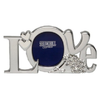Silver Plated Love - Letter Photo Frame
